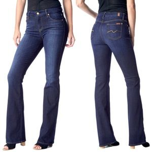7 For All Mankind Slim Kimmie Bootcut Jean 31 x 33
